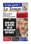 Le Temps d&#039;Algrie Edition du Samedi 10 Mars 2012