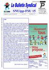 Bulletin 30 mars 2012