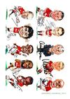 Manchester United Football Caricatures
