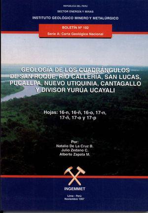 Calaméo - Geología - Cuadrangulo de San Roque (16n), Río