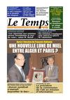 Le Temps d&#039;Algrie Edition du Mardi 08 Mai 2012