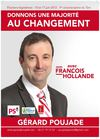 Journal Campagne Gerard Poujade Legislatives Tarn