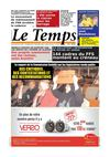 Le Temps d&#039;Algrie Edition du Mercredi 30 Mai 2012