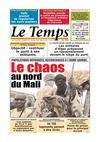Le Temps d&#039;Algrie Edition du Jeudi 28 Juin 2012
