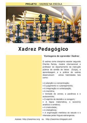 Xadrez Pedagógico