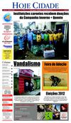 Jornal Hoje Cidade 04-08-2012