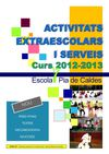 Activitats Extraescolar Curs 12-13