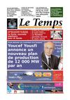 Le Temps d&#039;Algrie Editions du Lundi 13 aout 2012