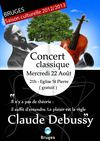 Concert Debussy 22 Aot