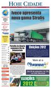 Jornal Hoje Cidade 25-08-2012