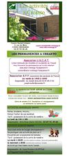 Programme des animations du centre social 2012-13