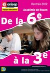 Guide informateurs &quot;Collge&quot; rentre 2012