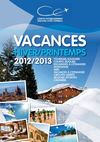 Catalogue Vacances Adultes Hiver Printemps 2012 - 2013