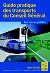 Guide pratique des transports du Conseil Gnral dition 2012 -2013