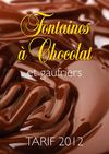 Fontaines  chocolat