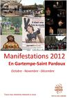 Agenda des manifestations d&#039;octobre  dcembre 2012 en Gartempe-Saint Pardoux
