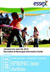 Town of Essex Community Services - Recreation and Municipal Information Guide - Winter/Spring 2013