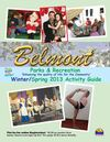 City of Belmont Winter Spring 2013 Activity guide with links
