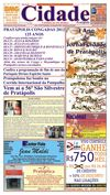 Jornal Cidade de Pratpolis - Edio n 25 de 21/12/2012