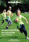 Actions sportives de proximit - jeunes