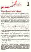 Estudio (1) Como comprender la biblia