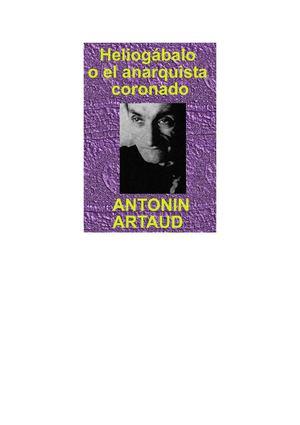 A. ARTAUD  HELIOGÁBALO