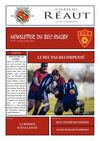 Newsletter du BEC Rugby n39 - Lundi 4 Mars 2013