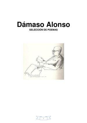 DAMASO ALONSO SELECCIÓN