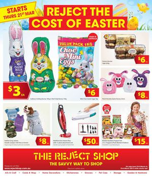 Calam 233 O The Reject Shop Easter Catalogue