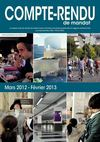 Compte-rendu de mandat 2012-13
