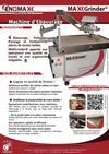 Enomax.fr  Exclu Industrie Lyon 2013  Machine d&#039;bavurage MaxGrinder