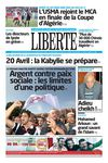 LIBERTE DU 14 AVRIL 2013