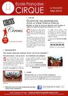 Newsletter Mai 2013