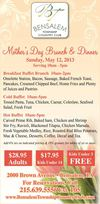 Mother's Day Brunch & Dinner