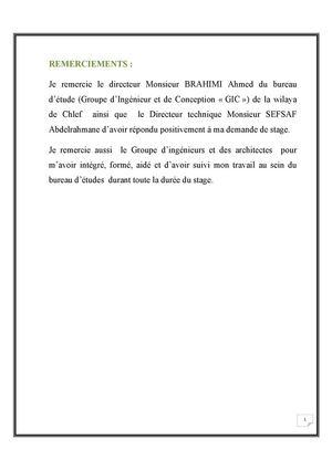 Calam o rapport de stage bureau d 39 tude - Bureau d etude ascenseur ...