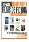 Nouveauts Films de fiction Mai 2013