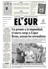 El Sur 19 de Mayo de 2013