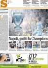 Il Mattino Napoli in Champions 16 maggio 2013