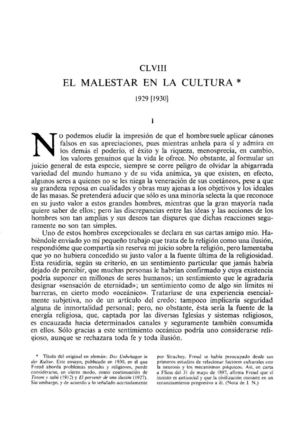 8_ SIGMUND FREUD ElMalestarenlacultura