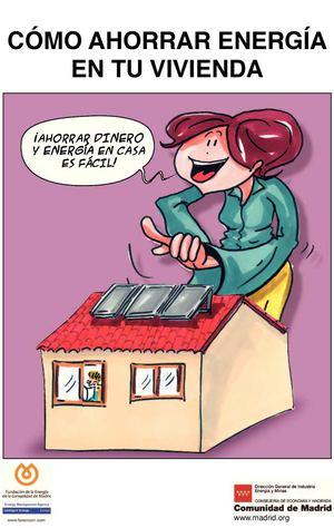 Calam o comic como ahorrar energia en tu vivienda - Ahorrar en casa ...