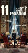 Programme cinéma Jacques Tati - Novembre 2013