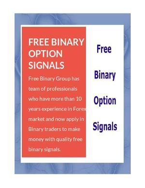 Free accurate binary options signals
