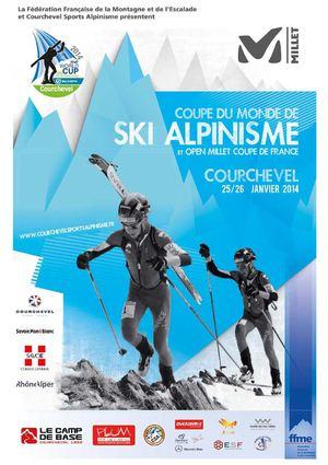 Calam o coupe du monde de ski alpinisme courchevel 25 et 26 janvier 2014 - Coupe du monde de ski courchevel ...