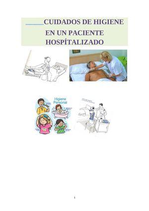 Calam o cuidados de higiene en un paciente hospitalizado for Cuidados de la vinca