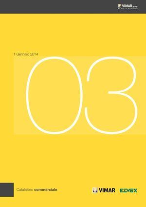 Calam 233 O Catalogo Vimar 2013 1