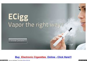 Electric Cigarette Review Sites