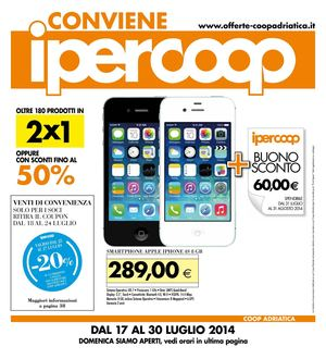 Iphone 6 sconto coop
