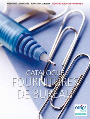 Calam o catalogue office plus de fournitures de bureau for Fourniture bureau catalogue