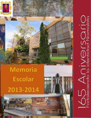 Calam o memoria escolar becene 2013 2014 for Memoria descriptiva de un colegio