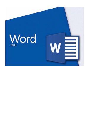 Calam 233 O Aulaclic Tutorial Word 2013